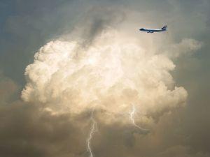 airplane ticket turbulance